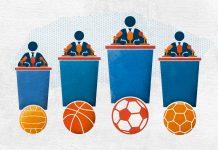 Neraskidiva veza sporta i politike; Ilustracija: Vjeko Sumić