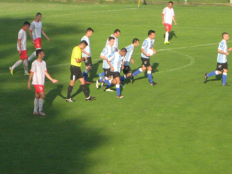 Sa utakmice između Bečejaca i Prigrevčana   Foto: Vlastimir Jankov