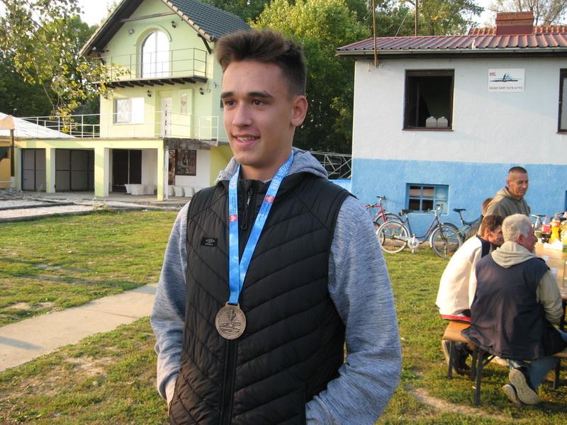 Miloš Stojkov je sezonu iza nas oplemenio brozom sa nezvaničnog Svetskog prvenstva u kadetskoj konkurenciji | Foto: Vlastimir Jankov