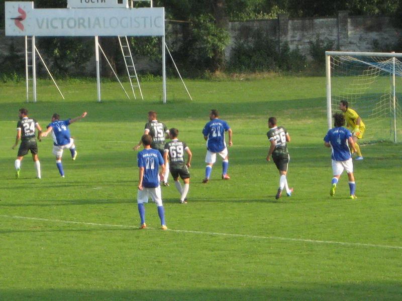 Detalj s utakmice protiv srpskoligaša iz Novih Banovaca   Foto: Vlastimir Jankov