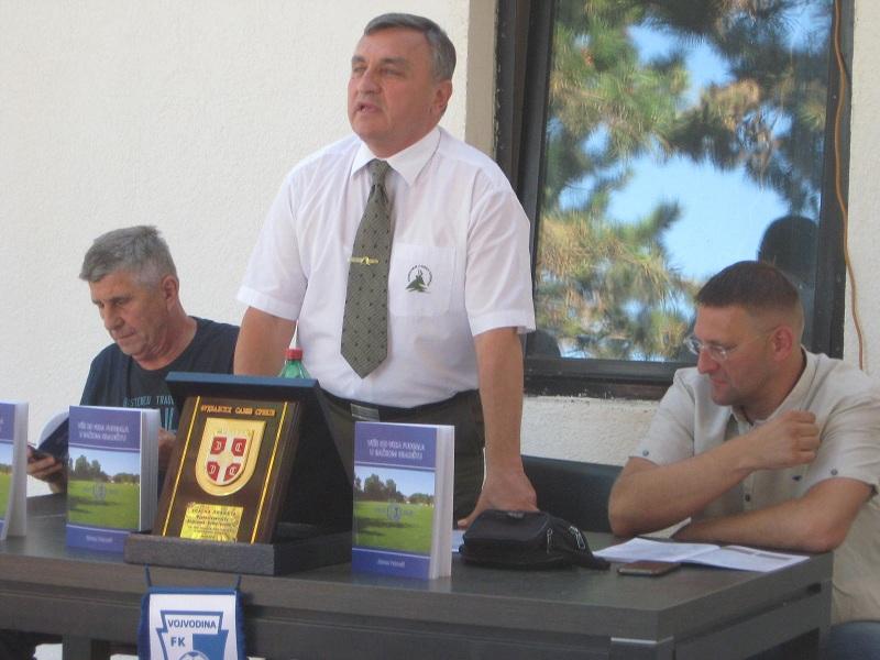 Dušan Kolarov, Stevan Petrović i Branilav Tatić na promociji | Foto: Vlastimir Jankov