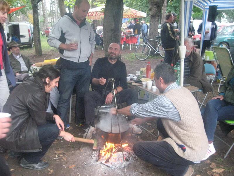 Sa lanjskog druženja na lovačkoj fešti u Bečeju |Foto: Vlastimir Jankov