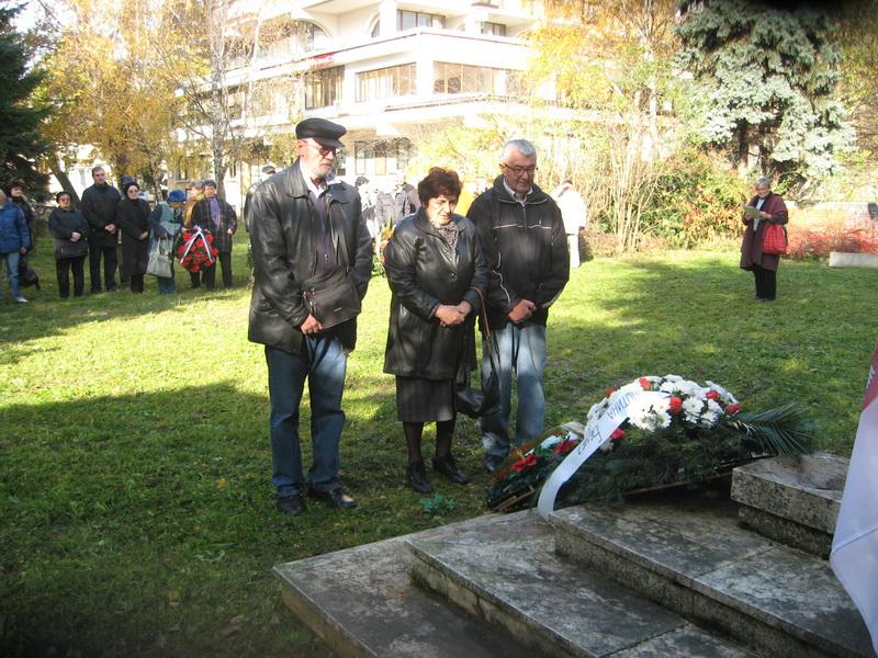 Predstavnici boračke organizacije odaju počast žrtvama Prvog streljanja u Bečeju | Foto: Vlastimir Jankov