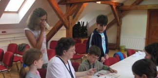 Milena Gmijović obožava da radi s decom u origami kampu