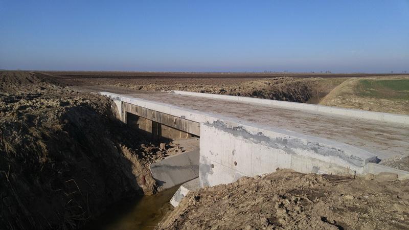 Sanirani propust u Bačko Petrovom Selu   Foto: JVP Vode Vojvodine