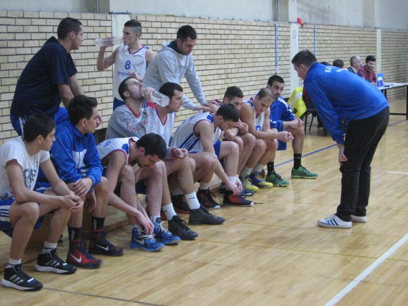 Košarkaši Tise pred početak jedne od jesenjih utakmica | Foto: Vlastimir Jankov