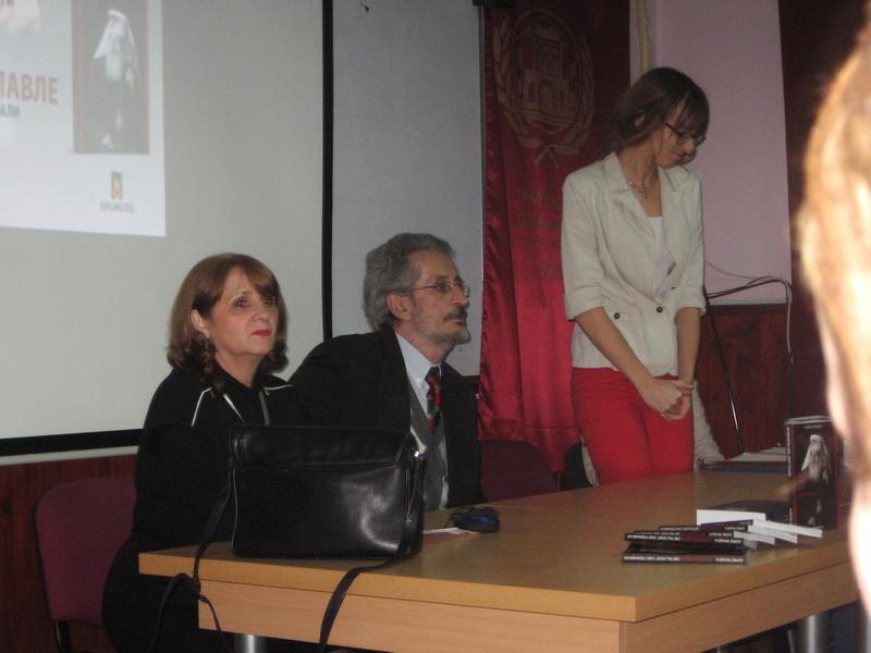 Đorđe Randelj na promociji u bečejskoj Gimnaziji | Foto: Vlastimir Jankov