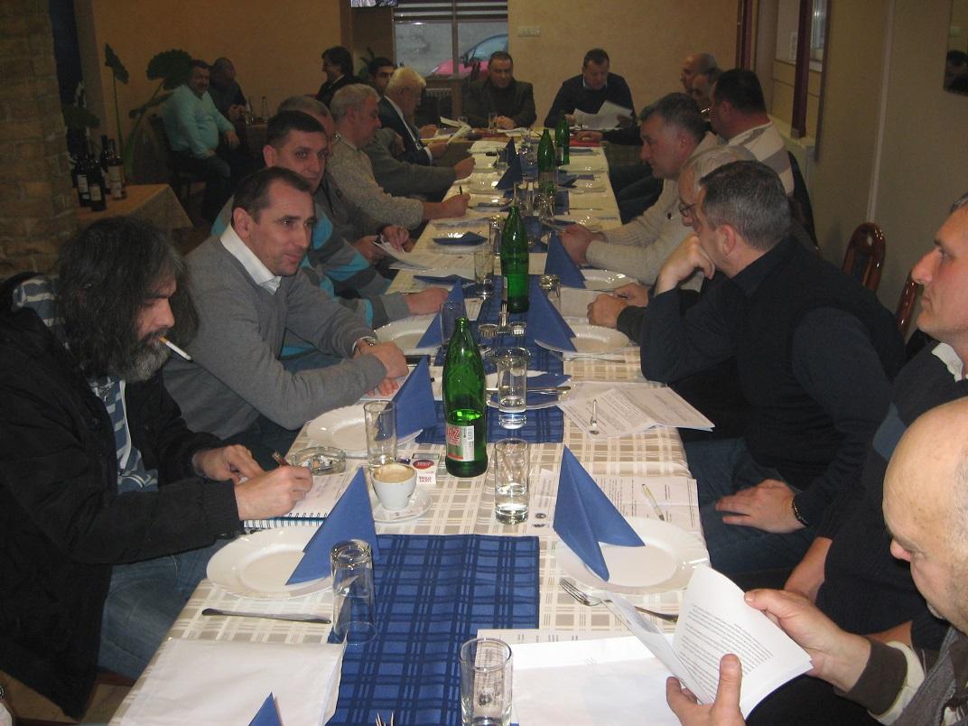 Sa Konferencije klubova vojvođanskog severa u Srbobranu   Foto: Vlastimir Jankov