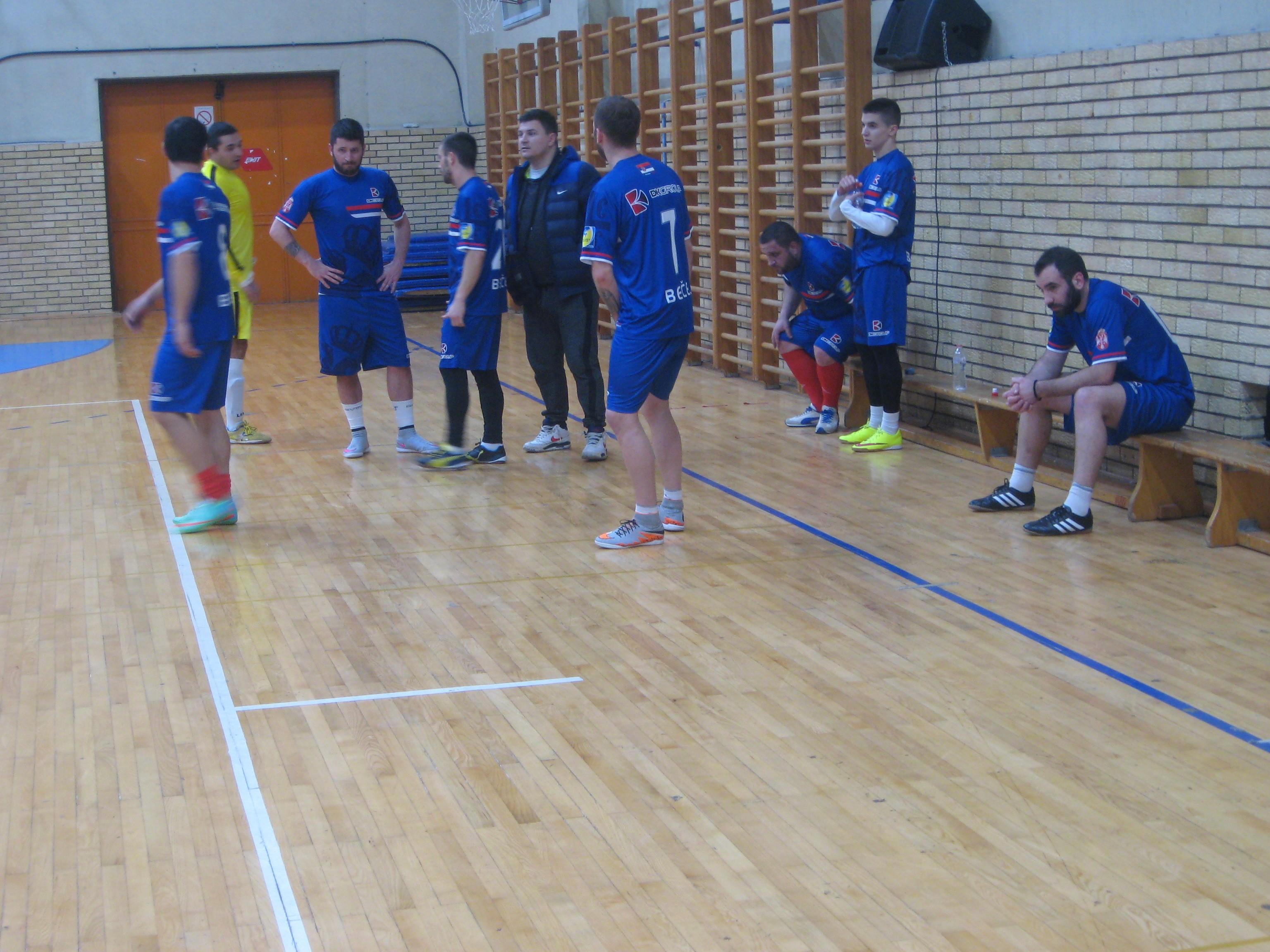 Ekipa DK group je tek u poslednjoj utakmici izborila pravo daljeg takmičenja | Foto: Vlastimir Jankov