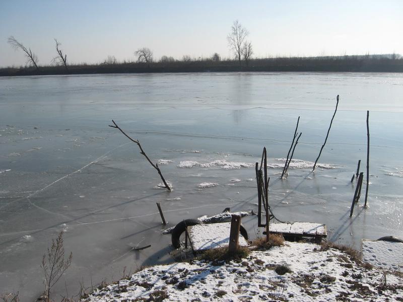 Tisa je pre krivine ledom spojila obale Banata i Bačke | Foto: Vlastimir Jankov