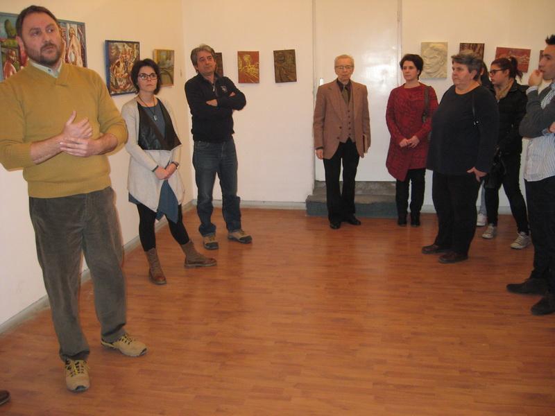 Sa otvaranja izložbe u Bečeju | Foto: Vlastimir Jankov
