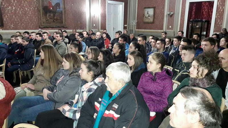 Publika imala mnogo pitanja za profesora Jorgu