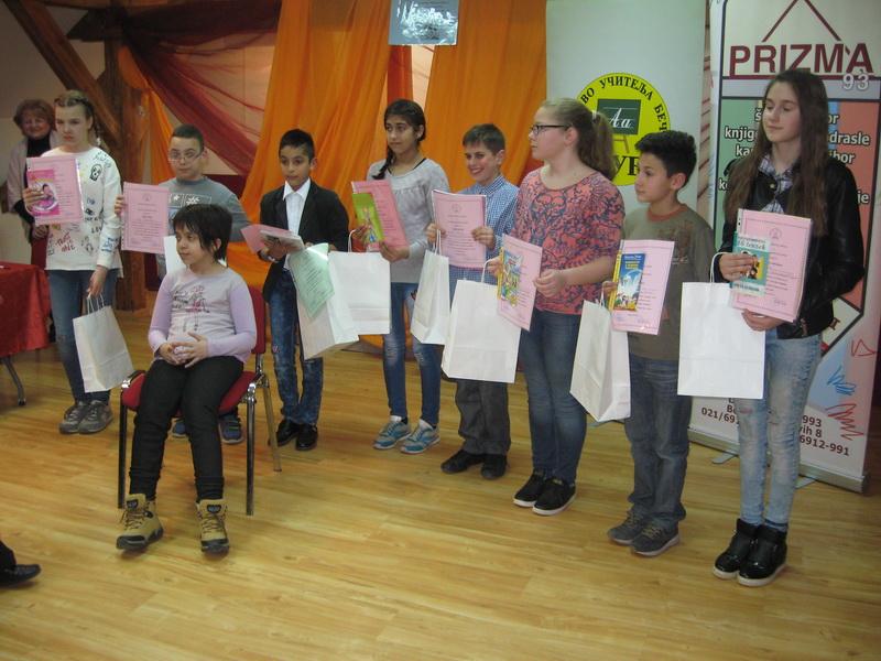 Nagrađeni recitatori jubilarne manifestacije bečejskih učitelja | Foto: Vlastimir Jankov