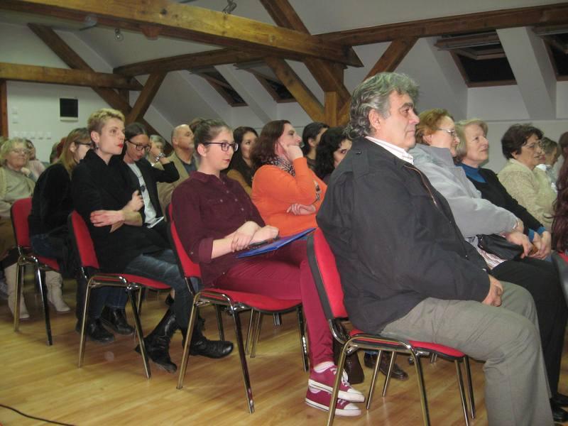 Publika je bila prezadovoljna onim što je čula   Foto: Vlastimir Jankov