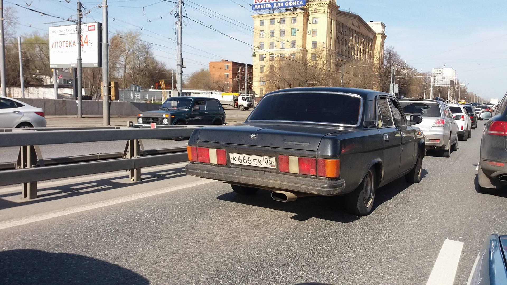 Moskva i ludnica u saobraćaju