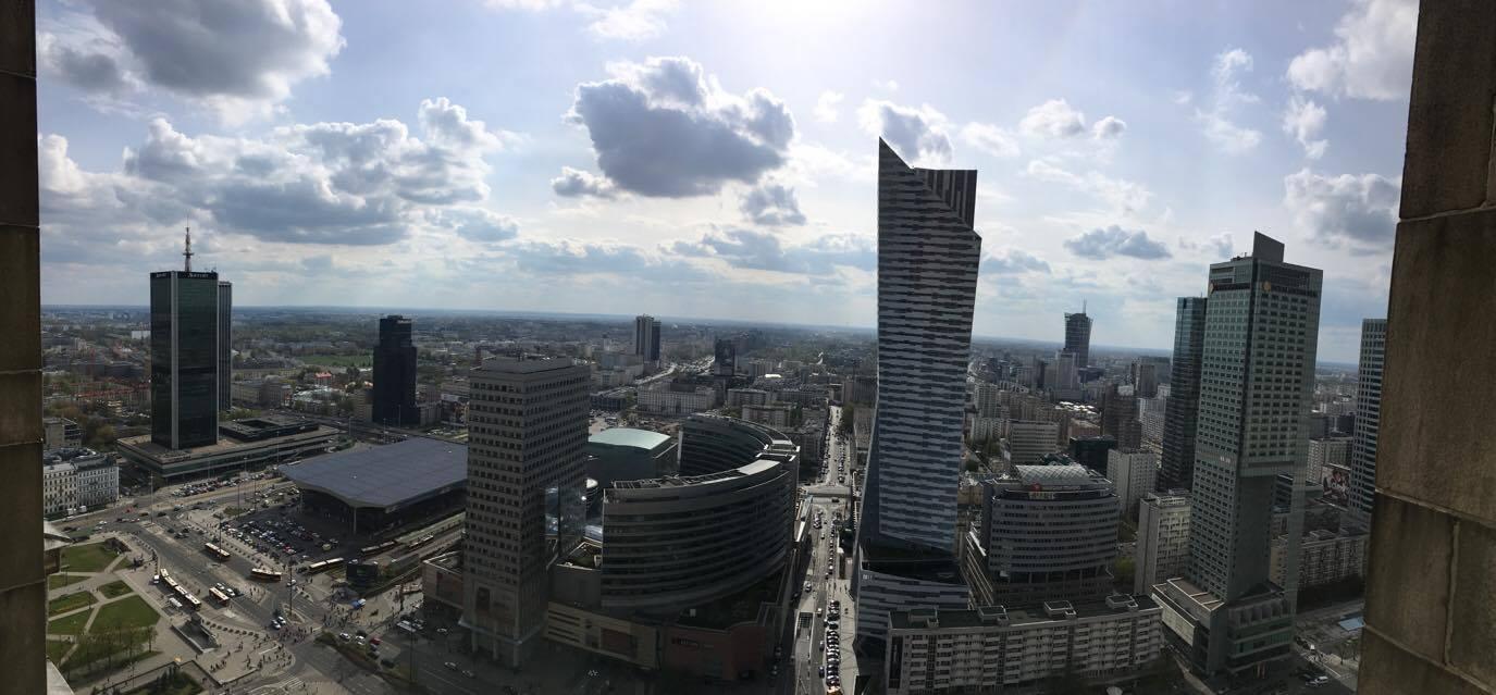 Panorama Varšave