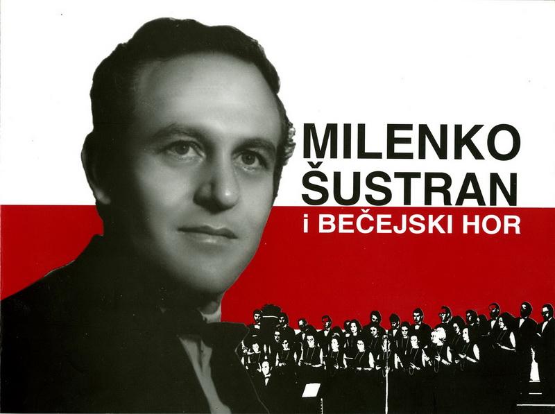 Naslovna strana knjige o životu i radu Milenka Šustrana