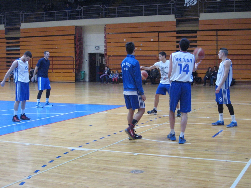 Košarkaši Tise su favoriti u okršaju sa Somborcima | Foto: Vlastimir Jankov
