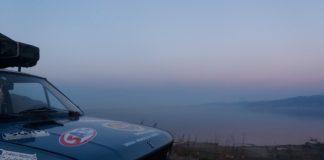 Pogled na Bajkalsko jezero, najdublje jezero na svetu i drugo po površini u Aziji