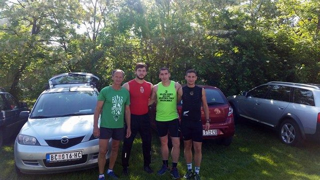 Maratonci iz Bečeja su danas u Subotici istrčali stazu od 26 kilometara