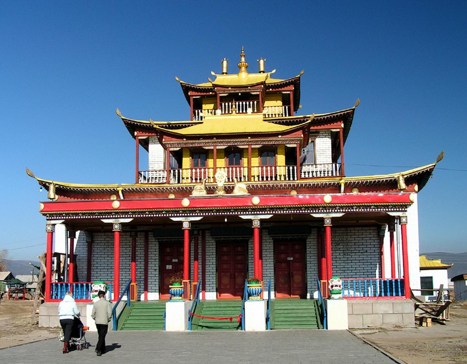 Budistički manastir Datsan u Ulan Udeu