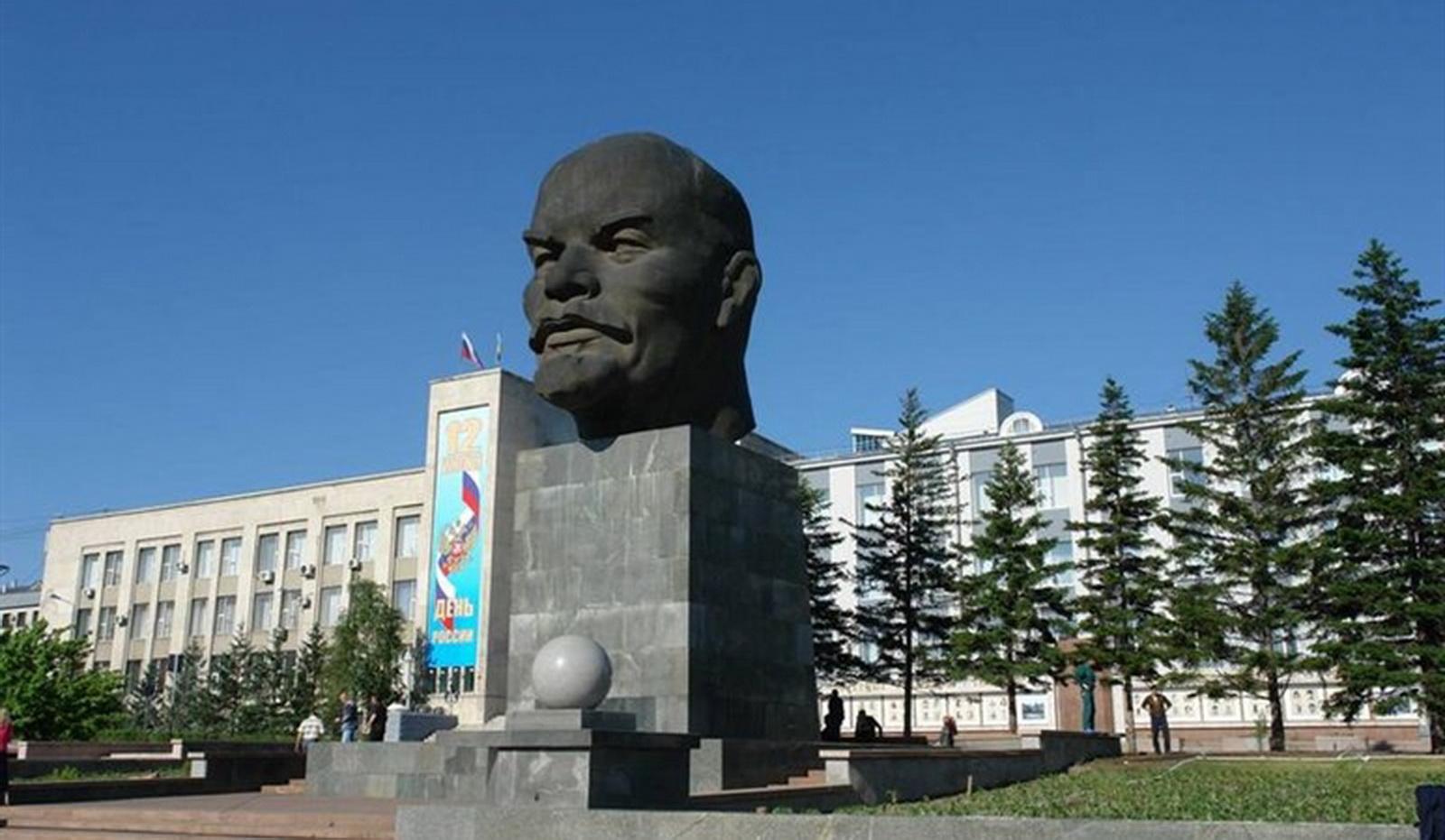 Statua Lenjina u Ulan Udeu