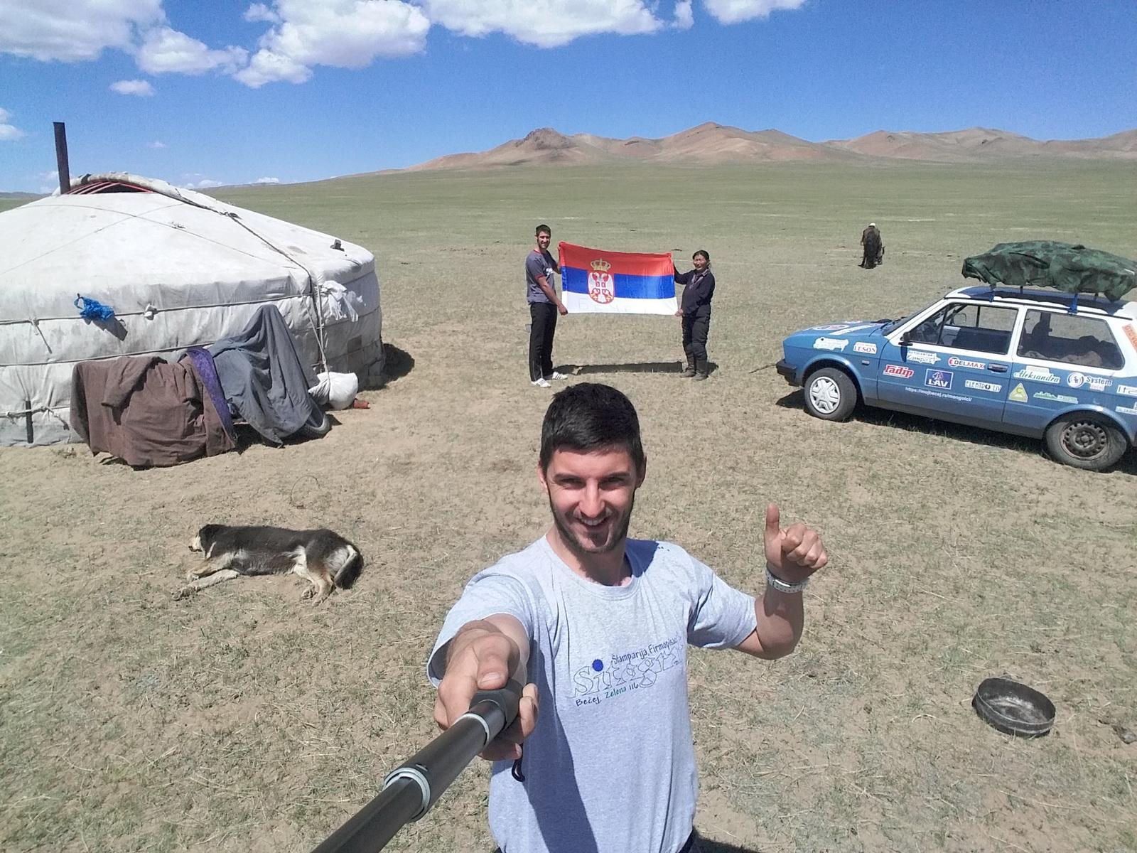 Sa prijateljima iz mongolske prerije