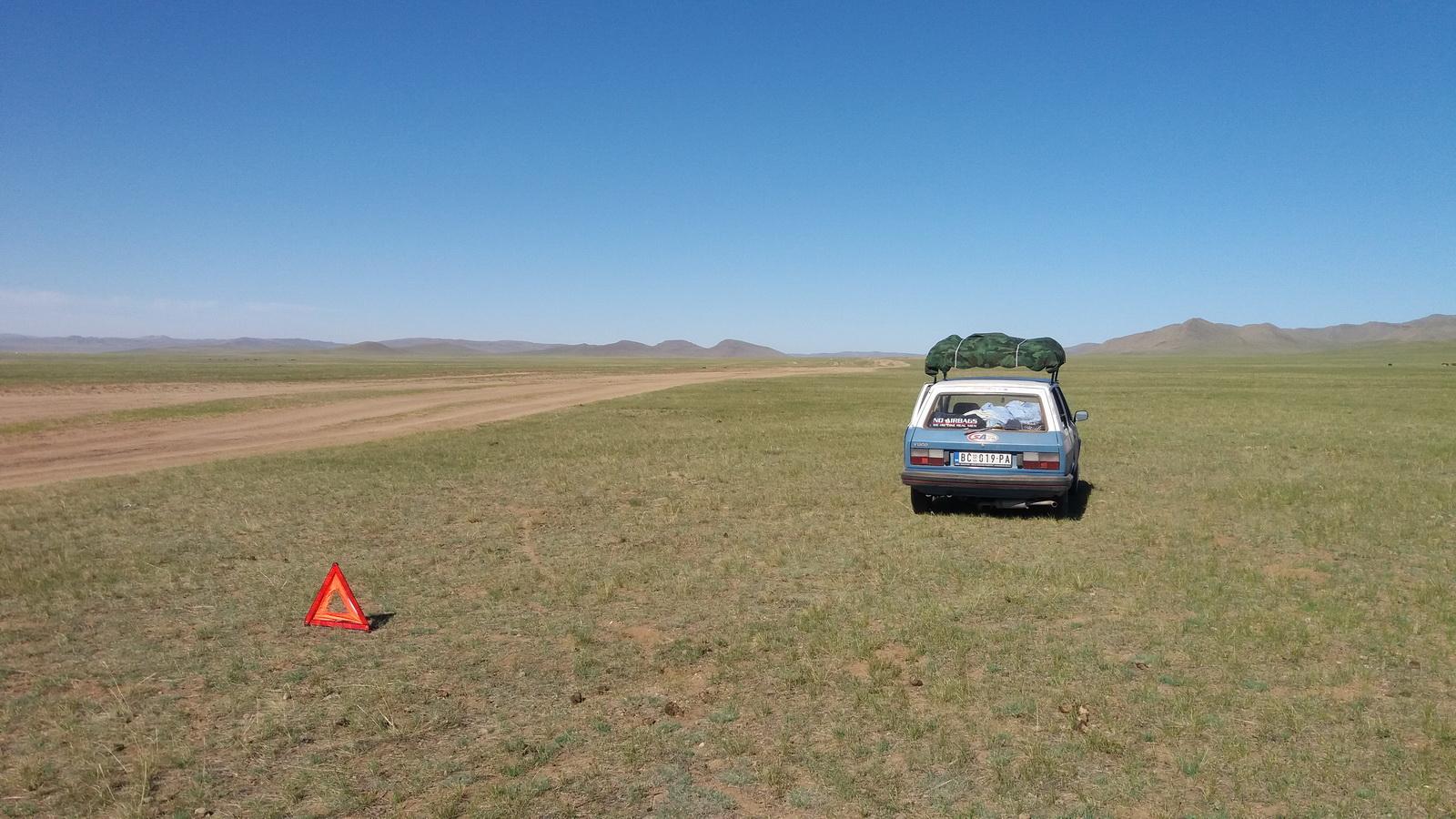 Peščani putevi kroz mongolsku pustoš