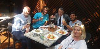 Sa predstavnicima ambasade u Bugarskoj