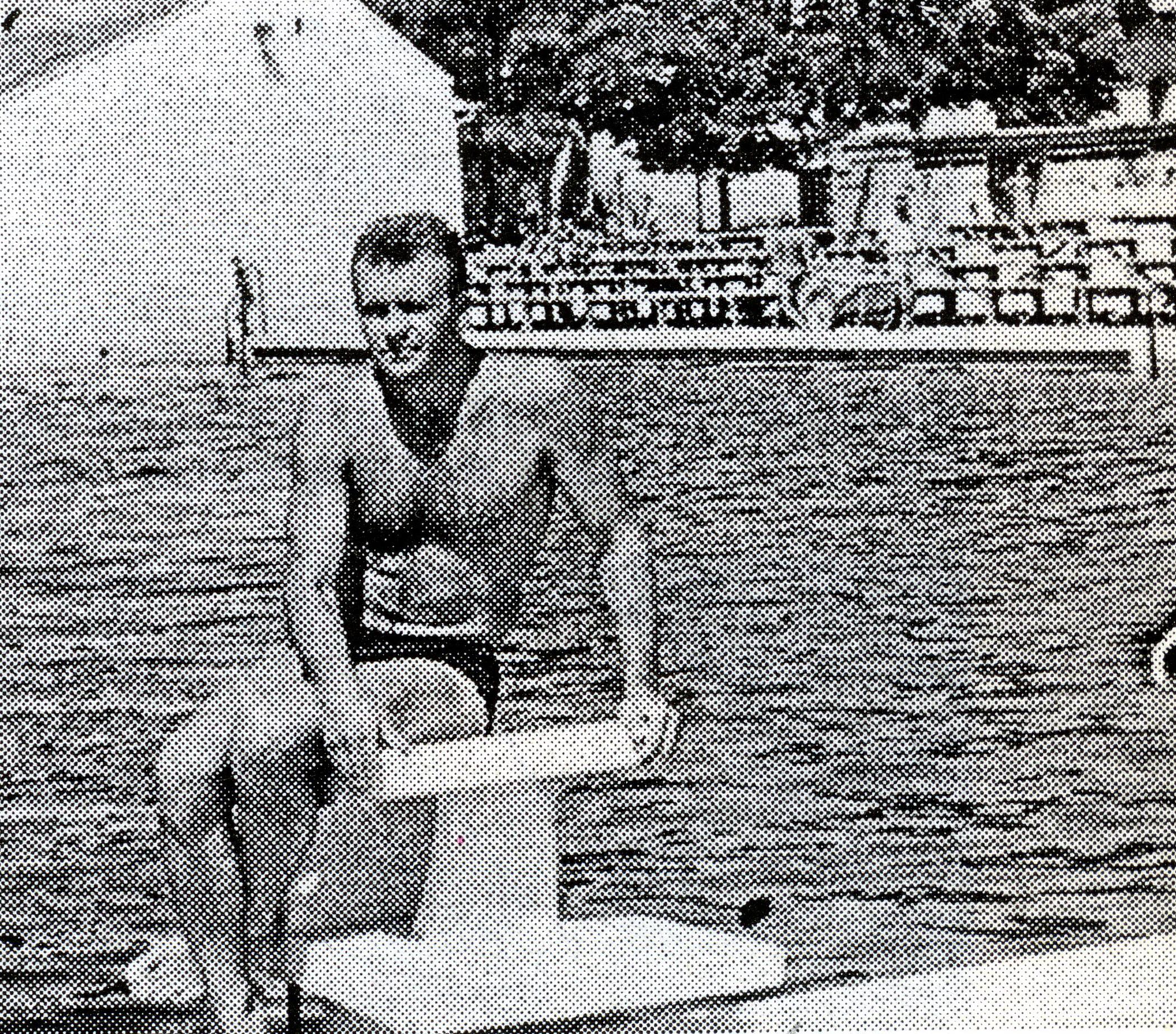Đurica Stojšić iz vremena kada je bio nosioc igre bečejskog vaterpola