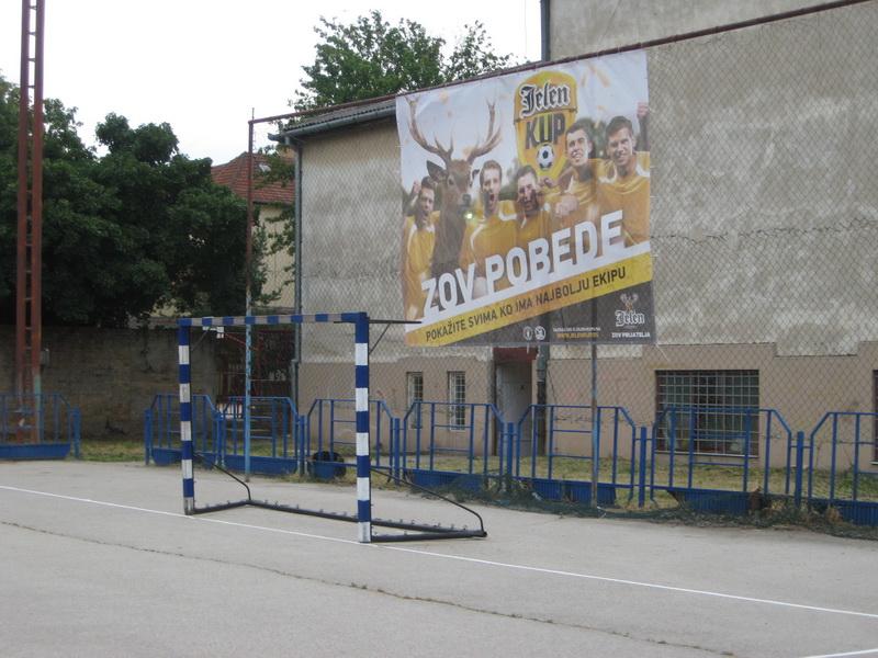 Igralište u dvorištu DTV Partizan spremno čeka učesnike turnira   Foto: Vlastimir Jankov