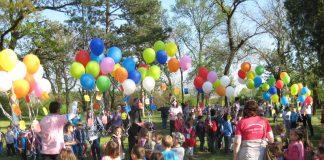 Jedna od manifestacija bečejskih predškolaca u prirodi   Foto: Vlastimir Jankov