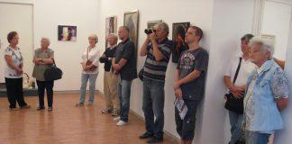 Nije bila velika posećenost na svečanom otvaranju izložbe | Foto: Vlastimir Jankov