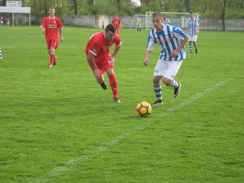Kosta Aleksić je bio strelac jedinog gola protiv Proletera | Foto: Vlastimir Jankov