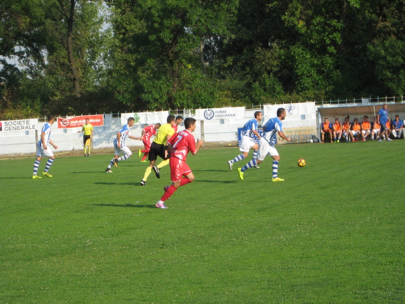 Momci sa Tise su sve vreme diktirali ritam utakmice   Foto: Vlastimir Jankov