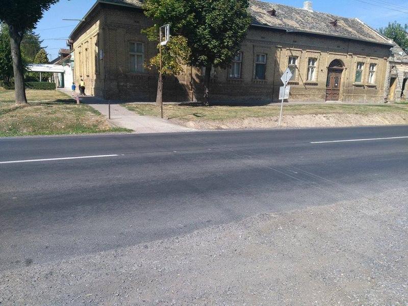 Ulice Školska i NOV
