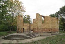 Porta crkve u izgradnji bilo je mesto sečenja slavskog kolača | Foto: Vlastimir Jankov