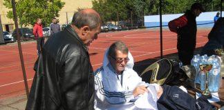 Delegat prvenstva Vojvodine Ljuba Obradović i domaćin Milorad Rakić | Foto: Vlastimir Jankov