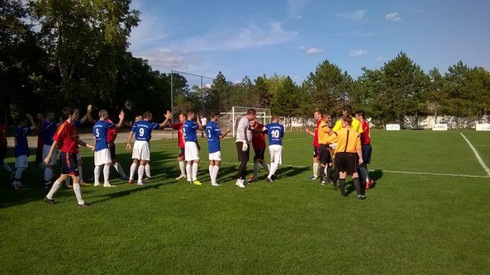 Pre početka finalne utakmice | Foto: Vlastimir Jankov