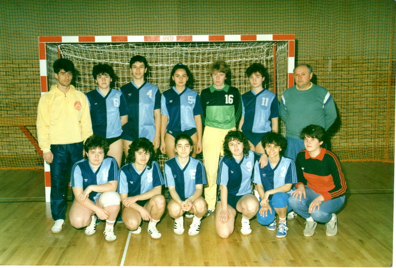 Ekipu iz sedamdesetih godina prošlog veka sa klupe su vodili Češljarovi, otac Dragan i sin Dubravko