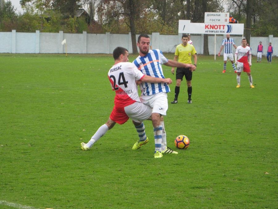 Dejan Rahić je vodio žestoku borbu na sredini terena