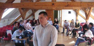 Domaćin regionalnog sastanka za mlade u Bečeju Dane Mandić | Foto: Vlastimir Jankov