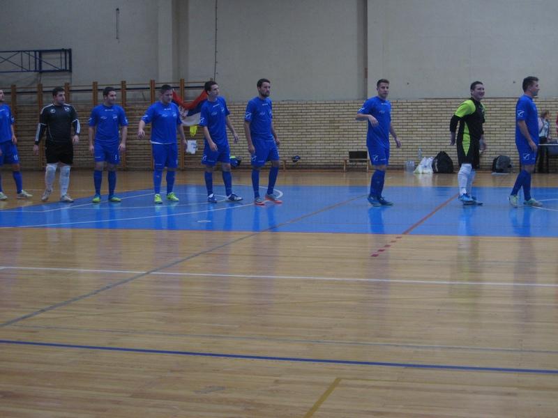 Bečejci pre početka subotnje utakmice | Foto: Vlastimir Jankov