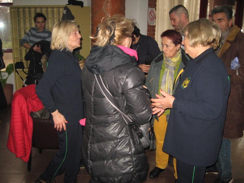 Predsednica Mira Vuković je dočekivala goste | Foto: Vlastimir Jankov