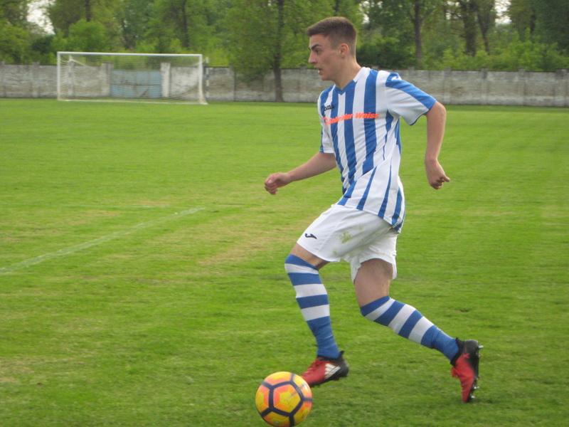 Ognjen Đuričin se golom oprostio od plavo belog dresa Bečeja | Foto: Vlastimir Jankov