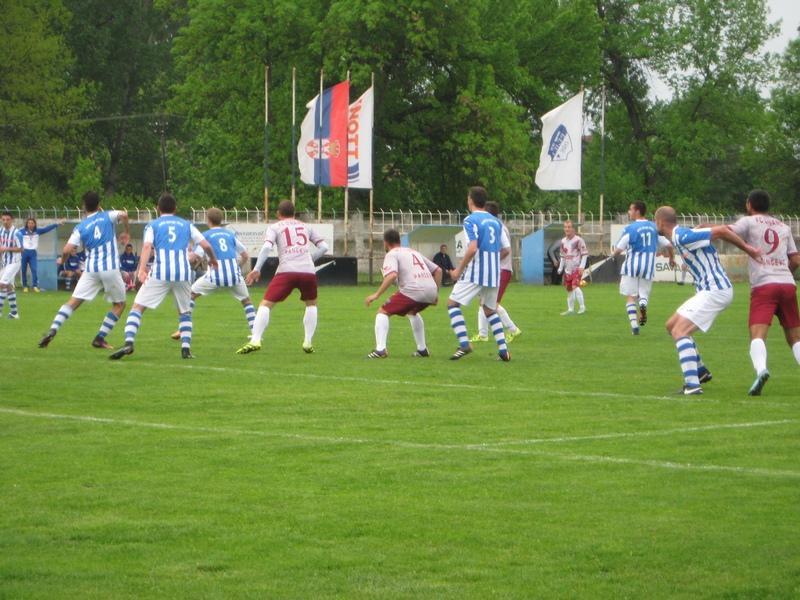 Sa kup utakmice Bečejaca i Pančevaca minulog proleća | Foto: Vlastimir Jankov