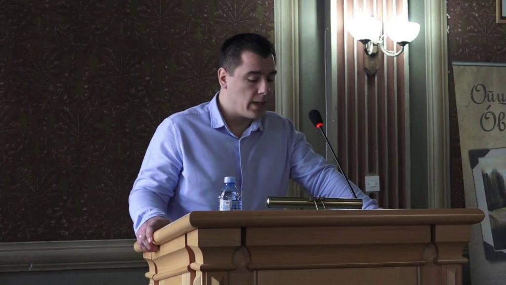 Dane Mandić, Óbecse község Ifjúsági Szervezetének koordinátora