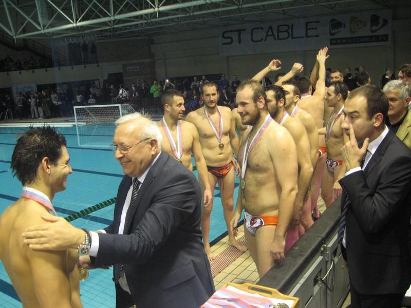 Sa uručenja medalja pre tri godine u Bečeju | Foto: Vlastimir Jankov