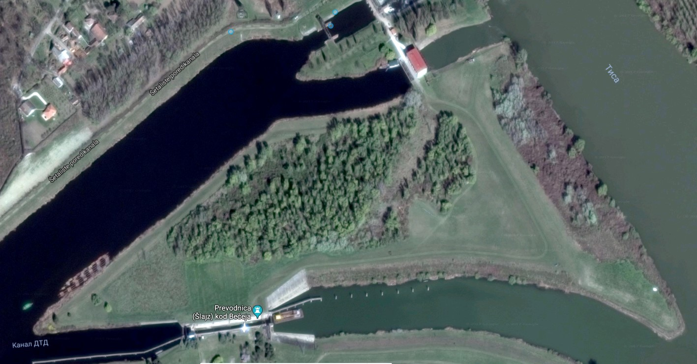 Satelitski snimak ostrva | Izvor: Google maps