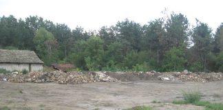 Prostor gde se stvorila deponija građevinskog šuta | Foto: Vlastimir Jankov
